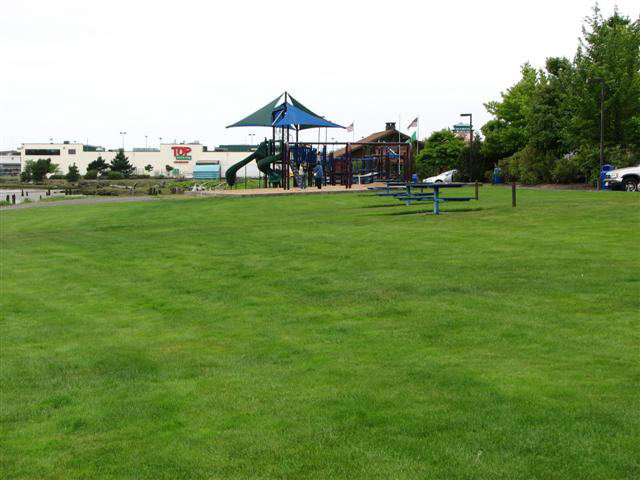 Morrison Park with a Playground and Picnic Tables