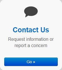 Customer Concerns Report Button